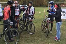 V sobotu se ve sportovním areálu ve Vidově uskutečnil v rámci ebike série závod cyklokrosových a MTB kol.