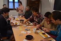 Svatomartinský kurz se konal v pátek 8. listopadu a zahájil sérii podzimních řemeslných kurzů v Jihočeském zemědělském muzeu.