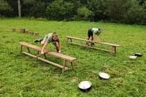 Děti si s CPDM užily letní tábor v Čeříně.