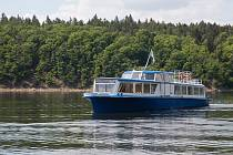 Lodě na vltavské vodě zdarma. Ilustrační foto