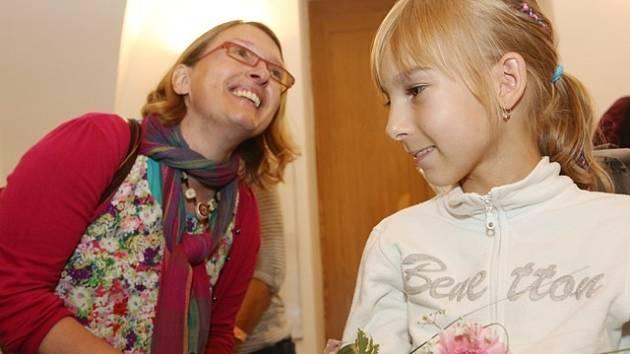 Barbora Sedláčková (vpravo).