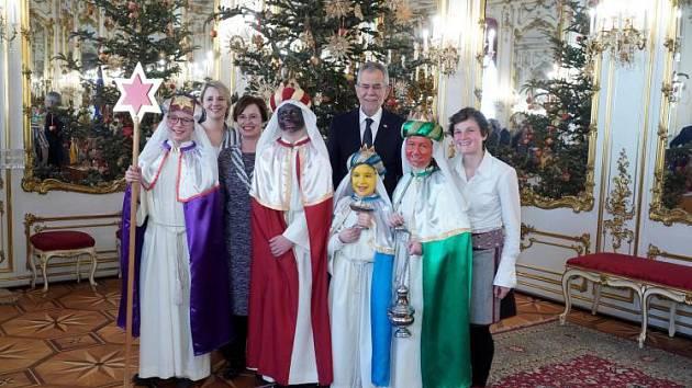 Rapovali rakouskému prezidentovi.