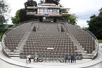 Jihočeské divadlo mělo v roce 2014 na otáčivém hledišti rekordní návštěvnost.