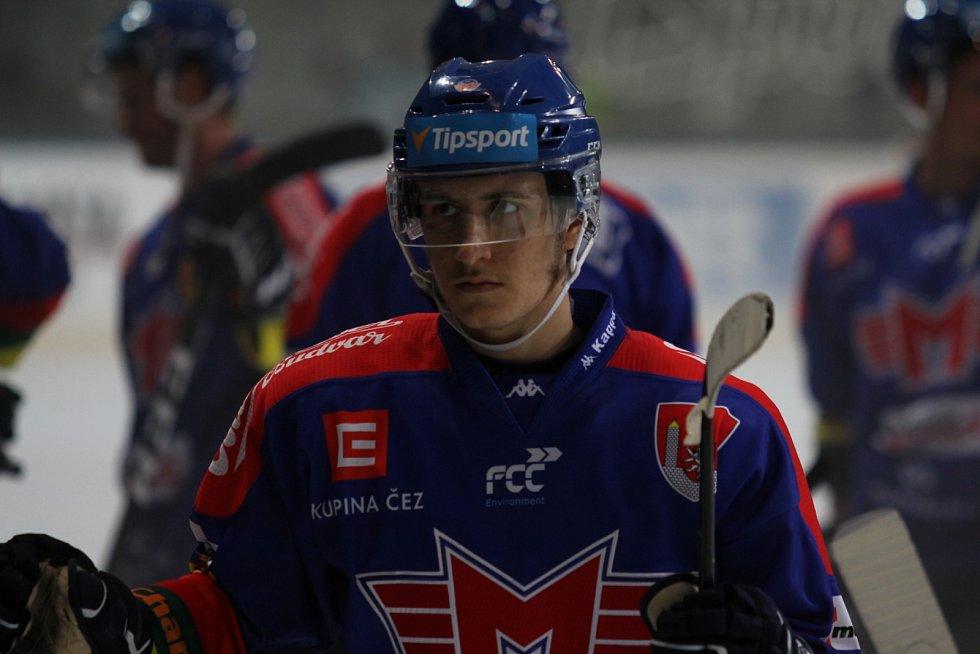 Hokejisté ČEZ Motoru prohráli v úvodním duelu Generali Česká Cupu v Praze na Spartě 2:5.