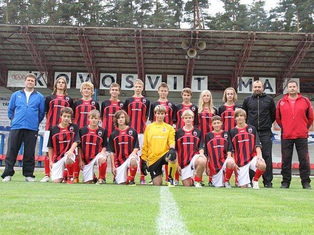 Úspěšný tým FK Tábor kategorie U15