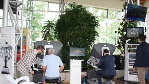 Ukázka operace pomocí robotického systému da Vinci