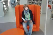 Na snímku náměstkyně ředitele Jihočeské vědecké knihovny Zuzana Hájková.