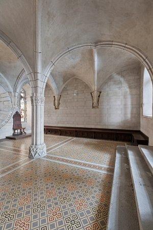 Ve Vyšším Brodě pozvou návštěvníky kromě Závišova kříže také do Kapitulního sálu kláštera.