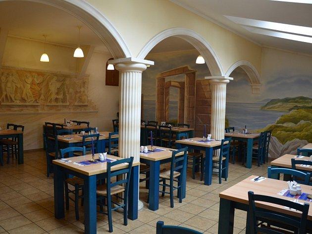 Řecká restaurace Poseidon