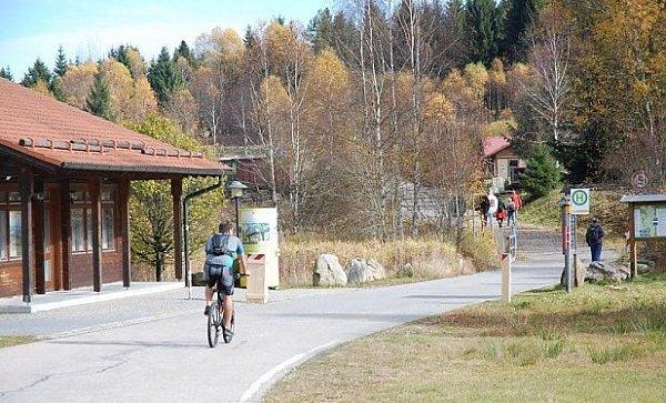 VHaidmühle už závora není.