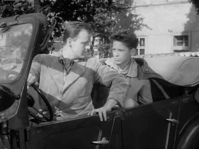 Scéna s gazíkem (řídí ho Stanislav Remunda) v Českém Krumlově.