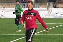 Jakub Řezníček proti Č. Krumlovu dal během šesti minut tři góly.
