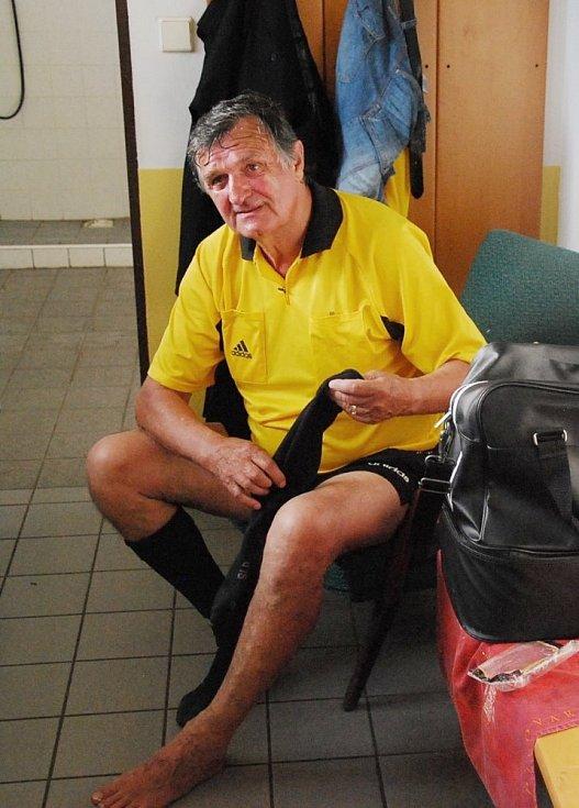 Legendární fotbalový rozhodčí Jiří Stiegler