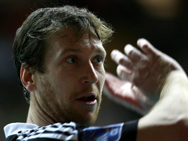 NAHRÁVAČ. Petr Zapletal je velkou oporou volejbalového Jihostroje.
