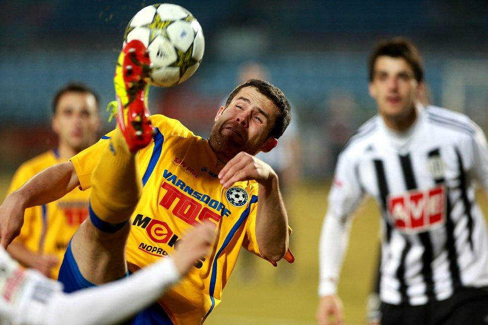 Utkání Fotbalové národní ligy mezi SK Dynamo České Budějovice a FK Varnsdorf.