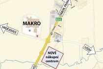 Tento týden se otevře veřejnosti nové Nákupní centrum Kruh. Vzniklo ve směru na Prahu, u výpadovky na Úsilné.
