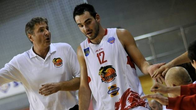 Basketbalisté Lions se připravují na dnešní utkání se Slunetou Ústí nad Labem