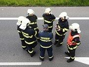 Příslušníci Hasičského záchranného sboru v Českých Budějovicích zasahovali uplynulou sobotu při likvidaci požáru osobního automobilu Škoda Felicia u obchodního centra Globus.
