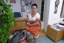 Šátky, kabelky i kravaty můžete nosit do redakce našeho Deníku. Tam je od vás převezme Alena Jozová.
