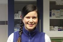 Veterinární lékařka Veronika Krepsová