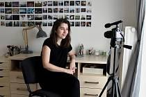 Youtuberka Hana B.Hana Winkelhöferová. Ilustrační foto