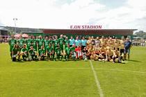 Pomáháme fotbalem. Akce generuje peníze pro nemocné děti