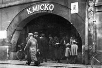 Dům č. 6 U Micků v krajinské z roku 1945.