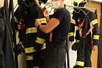 Profesionální hasič Martin Tomášek byl ve službě na Štědrý den prvně.
