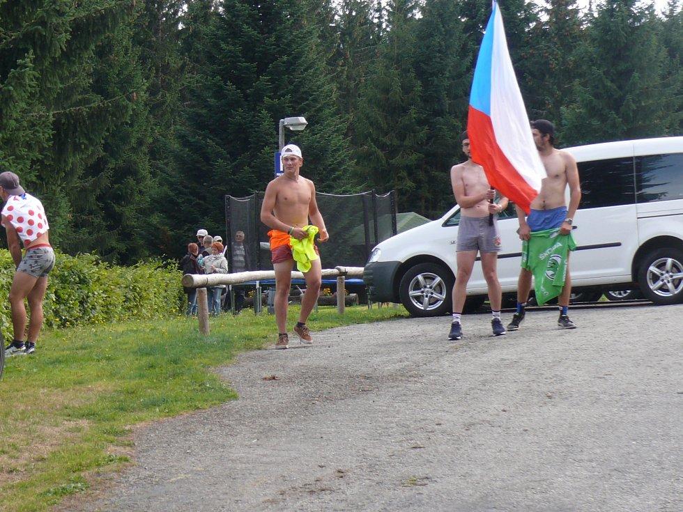 Královská etapa zavedla cyklisty na Churáňov