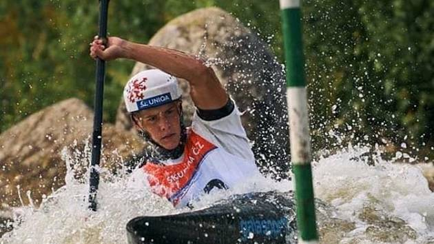 Jihočeský vodní slalomář Jakub Krejčí uvažuje i o účasti na OH 2021.