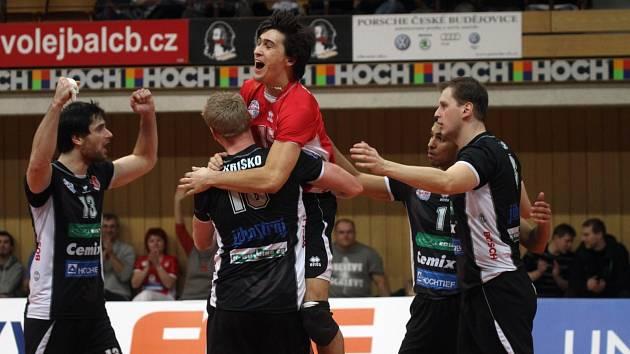 Volejbalisté Jihostroje České Budějovice hráli s Libercem