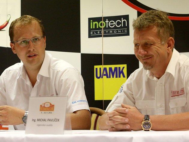 Pavel Kacerovský (vlevo) a Michal Pavlíček.