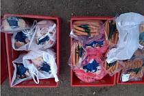 Kontrolou veterinářů neprošlo čtvrt tuny masa, které minulý týden přepravovala dodávka na dětský tábor Rosička na Jindřichohradecku.