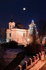 Rozsvícení vánočního stromu v Dobré Vodě