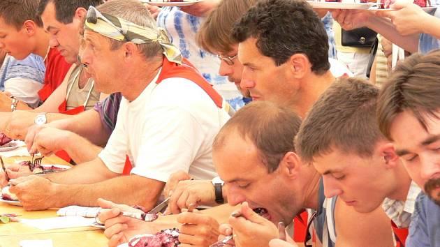 Borovanské Borůvkobraní přilákalo přes 70 jedlíků.