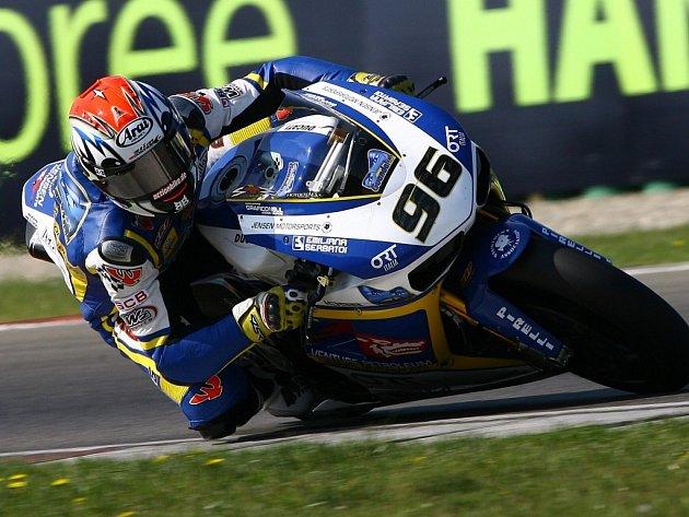 Jakub Smrž na okruhu v Assenu zazářil a třetím místem v závodě MS superbiků zaznamenal životní úspěch.