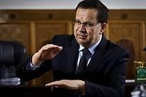 Ministr průmyslu Jan Mládek.