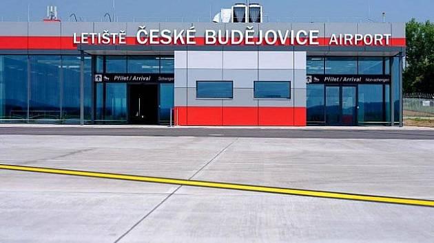 Letiště v Budějovicích.