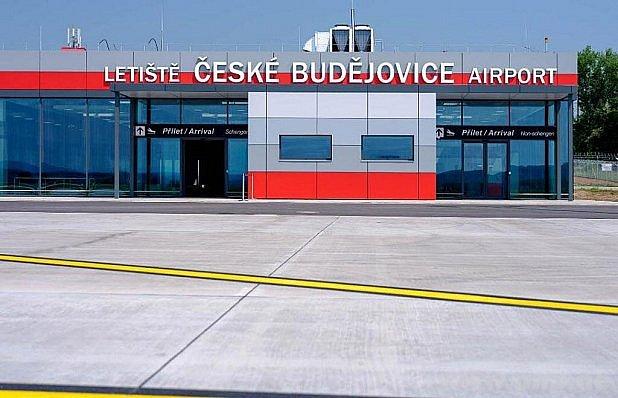 Letiště vBudějovicích.