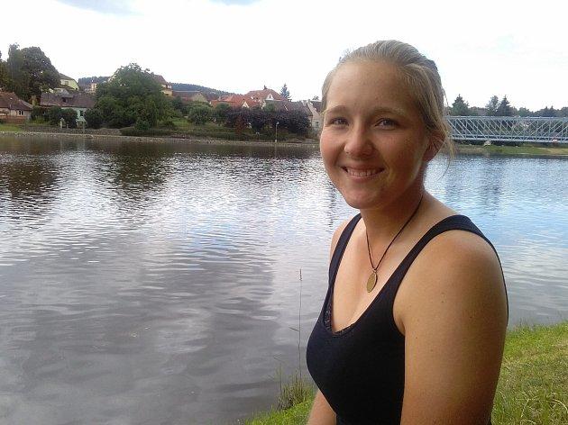 Marie Luňáčková v Týně nad Vltavou