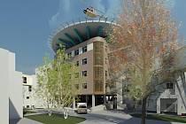 Součástí nemocničního areálu by měla být do budoucna i přistávací plocha pro vrtulníky.