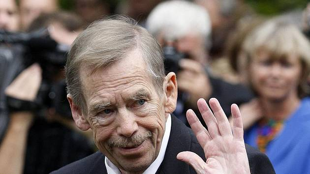 Václav Havel, první prezident České republiky, dramatik a dlouholetý bojovník proti komunismu.