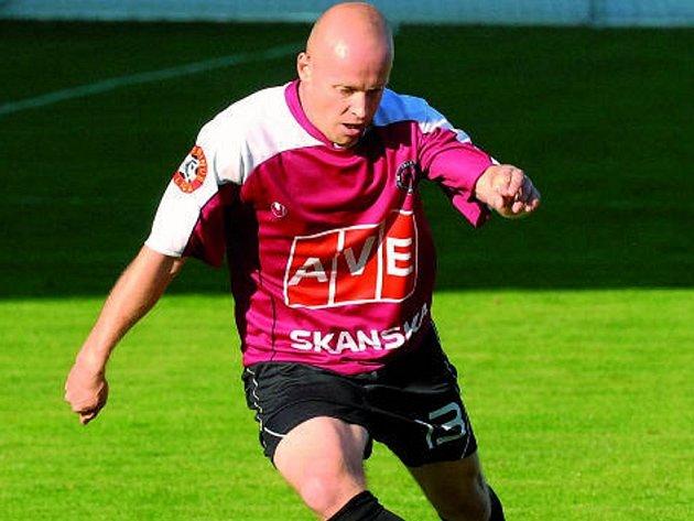 Jaromír Plocek i proti Žižkovu jako vždy odvedl poctivou práci, navíc přidal i nádherný vyrovnávací gól.