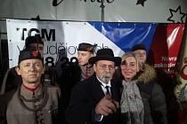 V prosinci roku 2018 se sokolové z Nové Vsi účastnili rekonstrukce příjezdu prvního československého prezidenta Tomáše Garrigua Masaryka z exilu zpět do vlasti.