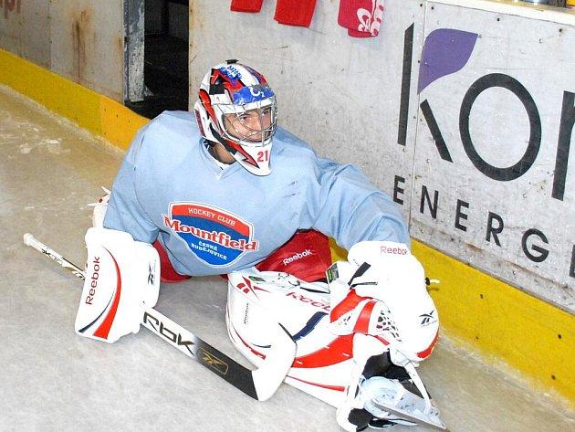 Jakub Kovář se chystá na reprezentační debut na turnaji Euro Hockey Tour.