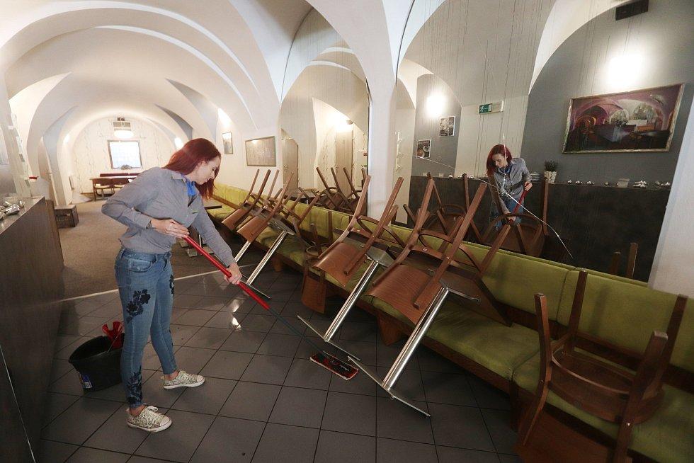 Otevření českobudějovických restaurací.