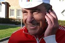 Cyklista Jiří Daler.