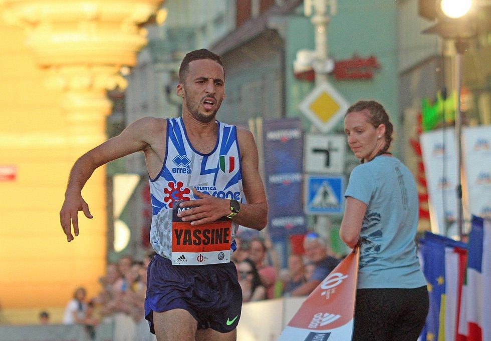 Půlmaraton v Českých Budějovicích.