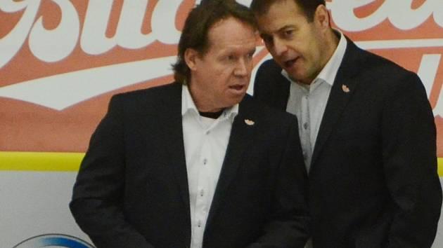 Petr Rosol (vlevo) s Radkem Bělohlavem