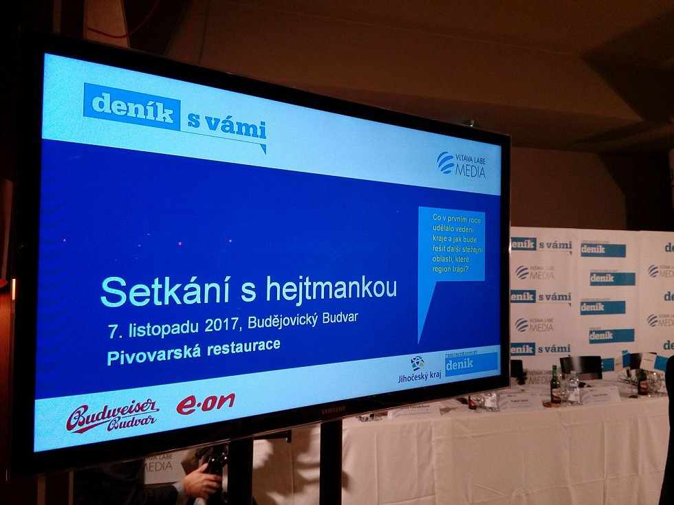 Přípravy na setkání s jihočeskou hejtmankou Ivanou Stráskou jsou v plném proudu.